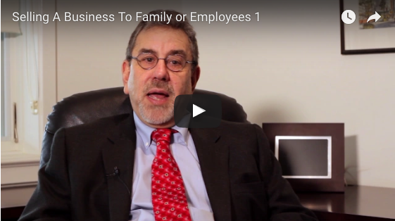 Selling A Business To Family or Employees 1
